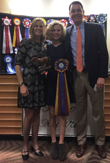 2018 NCDCTA Horse of the Year Main Eventing Champion
