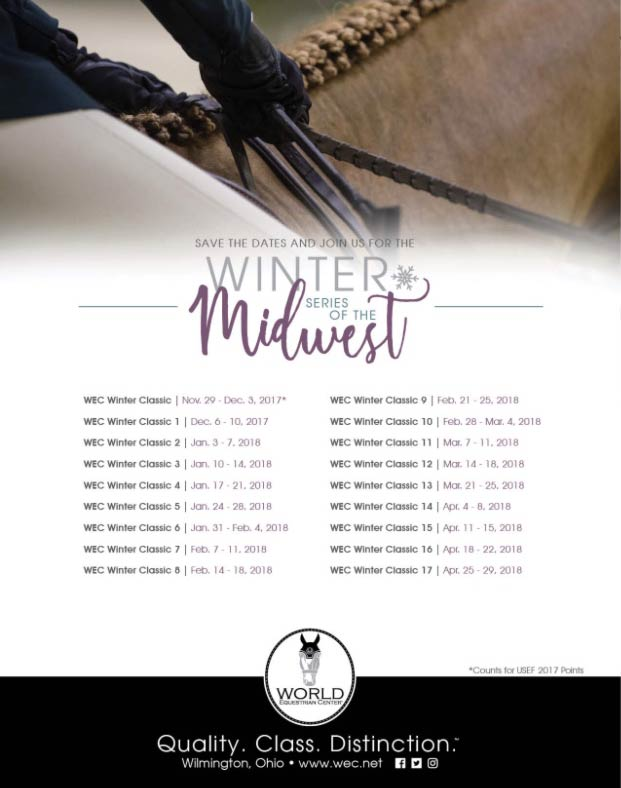 Winter Series of the Midwest World Equestrian Center